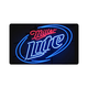 Miller Lite Beer Neon Logo Bar Sign