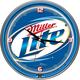 Miller Lite Neon Wall Clock