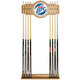 Miller Lite Billiards Wooden Pool Cue Rack