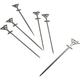 Stainless Steel Martini Picks - Set of 6