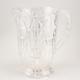 Plastic Crystal Cut Beverage Pitcher - 64 oz
