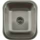 Houzer Undermount Stainless Bar Sink - Square Wet Bar & Prep Sink