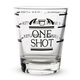 Measured Shot Glass - 1.5 oz