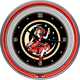 Miller High Life Girl In The Moon Neon Wall Clock