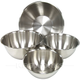 Heavy Duty Stainless Steel Mixing Bowls - Set of 4