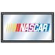 NASCAR Wood Frame Bar Wall Mirror