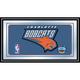 Charlotte Bobcats NBA Framed Logo Mirror