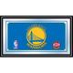 Golden State Warriors NBA Framed Logo Mirror