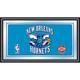 New Orleans Hornets NBA Framed Logo Mirror
