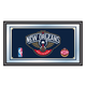 New Orleans Pelicans NBA Framed Logo Mirror