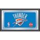 Oklahoma City Thunder NBA Framed Logo Mirror