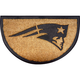 New England Patriots NFL Half-Moon Door Mat