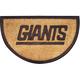 New York Giants NFL Half-Moon Door Mat