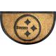 Pittsburgh Steelers NFL Half-Moon Door Mat