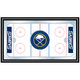 NHL Buffalo Sabres Framed Hockey Rink Mirror