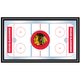 NHL Chicago Blackhawks Framed Hockey Rink Mirror