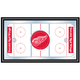 NHL Detroit Redwings Framed Hockey Rink Mirror