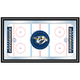 NHL Nashville Predators Framed Hockey Rink Mirror