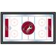 NHL Phoenix Coyotes Framed Hockey Rink Mirror