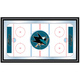 NHL San Jose Sharks Framed Hockey Rink Mirror