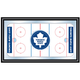 NHL Toronto Maple Leafs Framed Hockey Rink Mirror