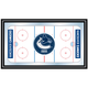 NHL Vancouver Canucks Framed Hockey Rink Mirror