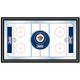NHL Winnipeg Jets Framed Hockey Rink Mirror