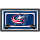 NHL Columbus Blue Jackets Framed Team Logo Mirror