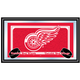 NHL Detroit Redwings Framed Team Logo Mirror