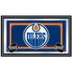 NHL Edmonton Oilers Framed Team Logo Mirror