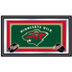NHL Minnesota Wild Framed Team Logo Mirror