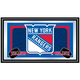 NHL New York Rangers Framed Team Logo Mirror