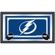NHL Tampa Bay Lightning Framed Team Logo Mirror