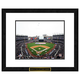 New York Yankees MLB Framed Double Matted Stadium Print