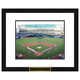 Oakland Athletics MLB Framed Double Matted Stadium Print