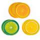 Summer Citrus Slices Coaster Variety Pack - Set of 8