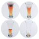 Disappearing Pilsner Drink Coasters - Set of 4