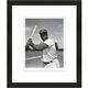 Jackie Robinson Baseball Framed Print