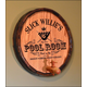 Personalized Pool Room Barrel End