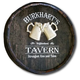 Personalized Neighborhood Tavern Barrel End
