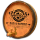 Personalized Pit Stop Bar & Tavern Barrel End