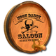 Personalized Saloon Barrel End