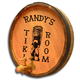 Personalized Tiki Room Barrel End