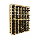 Traditional Redwood Standard Wine Rack - Holds 66 Bottles - Full Size