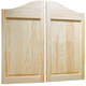 Raised Two-Panel Pine Saloon Doors