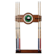 8-Ball Billiards Wooden Pool Cue Rack