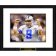 Tony Romo Framed Double Matted NFL Print