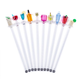 Happy Hour Drink Swizzle Stick Stirrers - Set of 10