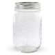 Ball Mason Jar with Lid - Regular Mouth - 16 oz