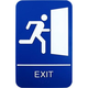 Braille Exit Sign